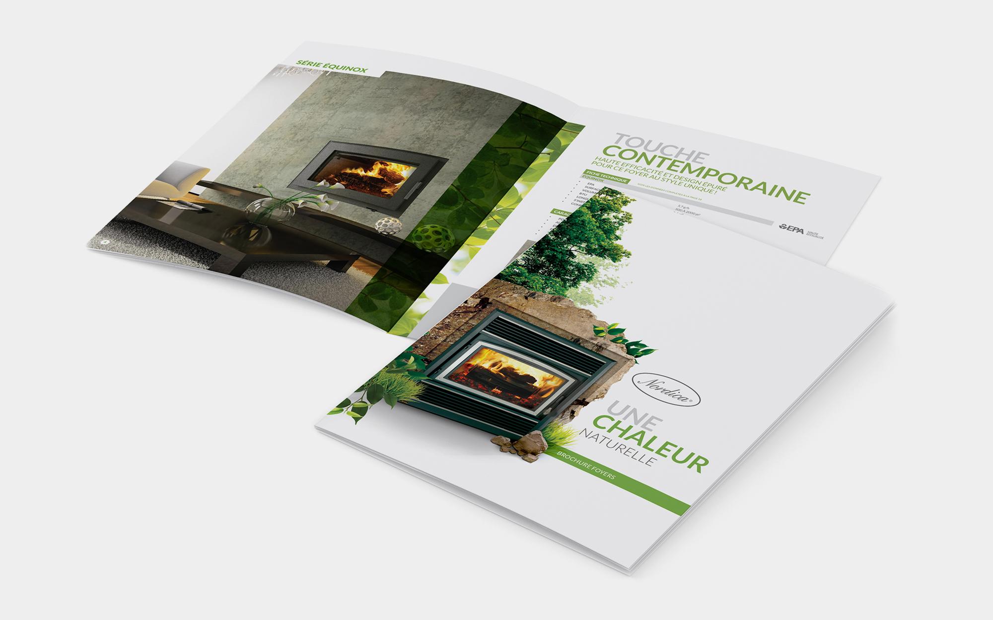De chaleureuses brochures!