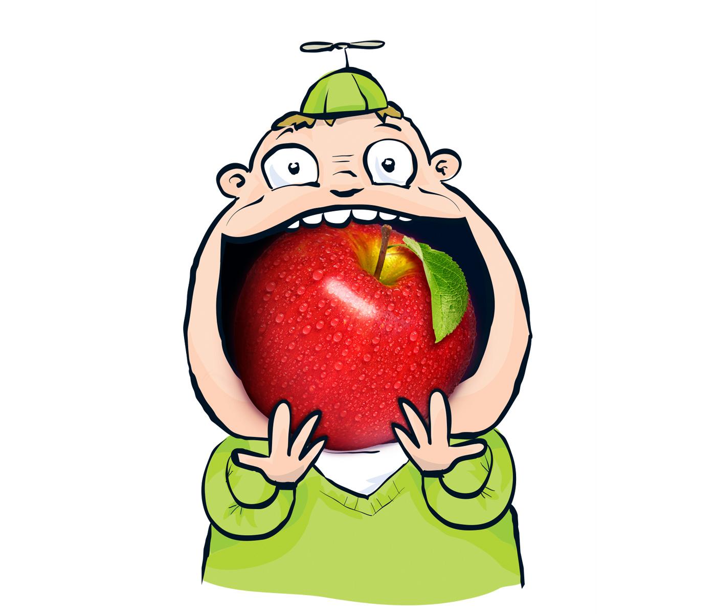 …vous chantent la pomme!